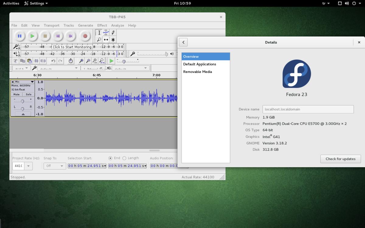 Fedora23-Audacity-ITURADYO